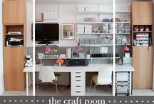 Home - Craft/Guest Inspiration / Ideas for my perfect craft/guest room / by Christina Yamasaki