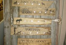My Favorite Hunting Decor / Things I just love!! / by TheWoodGrainGallery