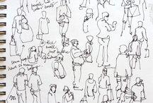 Easy sketch human