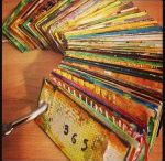 ...Journal-Glue Books... / Using glue to slap down magazine pictures or text and whatnot.