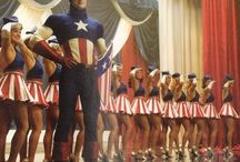 Captain America dancing girl