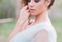 Punky bridal make up
