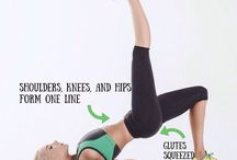 Simple exercises / How to do simple exercises. Fitness for beginners.
