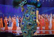 Barbie : les Miss du monde / Les robes élues aux concours Miss monde