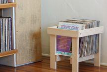 LP Records Storage