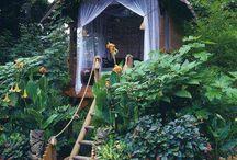 Garden retreat / by Kat de Sarigny