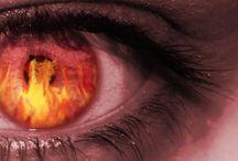 Evil eye, Curses