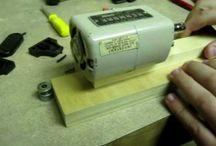 mini lathe with sewing machine mot