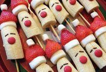 Weihnachts-Früchte