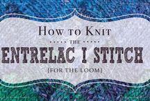 Loom Knit - Stitch Patterns