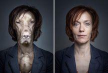 Sebastian Magnani / Dogs dressed like their owners - photographer Sebastian Magnani's amazing portraits