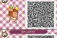 animal Crossing QR Codes <3