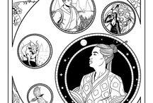 Webcomics - A deusa e o Vaqueiro / Essa é a webcomics do blog Sonhos de Nankin. A história é inspirada em um antigo conto chinês, que foi reformulado e desenhado por mim. Para mais > http://sonhosdenankin.tumblr.com/
