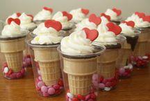 Valentine kids treats