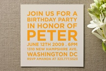 Invitations / by Pauleenanne Design