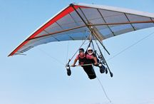 Hang Gliding /  Hang Gliding is one of the most favorite air sports of every adventurous person. That feel when you start hanging in the air as you start gliding is worth all the time spent in learning the sport. More info visit http://bit.ly/1QEQUzP