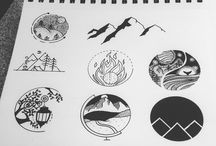Round drawings