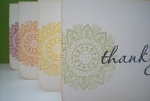 Cards to Thank Others / by Diana Walters
