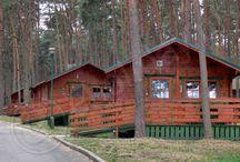 Domki wypoczynkowe / Przedstawiamy ofertę domków wypoczynkowych na terenie ośrodka Kormoran Niesulice.