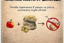 Полезные советы от Домоседа.