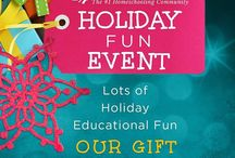 Homeschool.com Holiday Fun Event / Holiday Fun Event (free resources) Our Gift to You!!! / by Homeschool.com