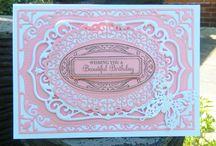 Spellbinders Nestabilities Card Creator: 5x7 Elegant Labels Four