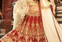 Celebrity Replica Lehengas / Shop online for latest celebrity inspired Lehengas collection at affordable rates from SareesBazaar.com