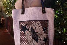 RéaLisa / Toutes mes réalisations sur http://www.alittlemarket.com/textiles-et-tapis/fr_plaid_jete_de_lit_canape_en_rag_quilt_-15997556.html