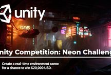 Unity Competition: Neon Challenge