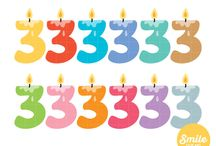 Letters and numbers clipart