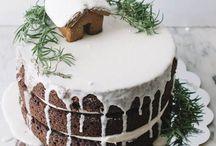 Tortas y cocina de navidad