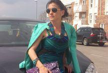Natural Luxury / #Fashion #StreetStyle #Green&Blue #SpringColors #WomanFashion #Spring2014 #MaxiDress https://mylovelywishes.wordpress.com