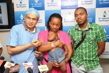6 month old African child Eye surgery / by Dr-Agarwal's Eye Hospital