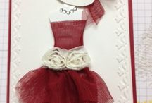 Stampin' Up Dress Up Cards / by Debbie Peters