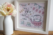 tea for two / by Esme'sButtons