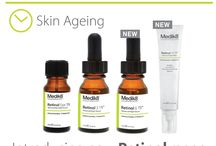 Retinol / Retinol treatment products are designed to revitalize the skin and help diminish signs of ageing, treat acne and sun damaged skin.