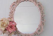 Shabby Chic Mirrors Ideas