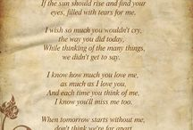grief diaries loss of a parent