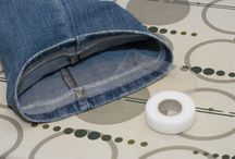 Easy hemming jeans