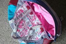 Taschen selbstgenäht
