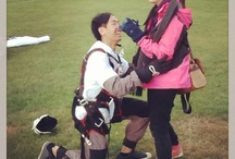 The best proposal - after a skydive!