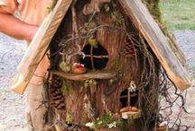 domčeky v zahrade