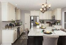 White Kitchens / White kitchen cabinetry