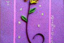 My Cards / Quilling