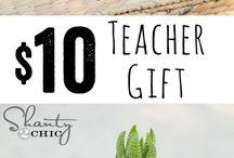 Dárky pro učitelku