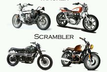 Vintage motorcycle photos