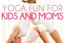 yoga for kids and moms