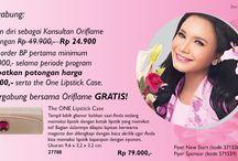 Promo Oriflame / Promo yang diadakan oleh Oriflame Ingin sukses dari rumah yuk baca infonya disini http://www.sukseskerjadarirumah.com