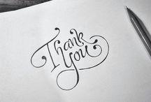 Kalligrafie, Design/Ideeen