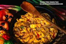Jamaica Cultural foods / Paradise Palms Jamaica Villa present different aspects of the variety of foods in Jamaica.